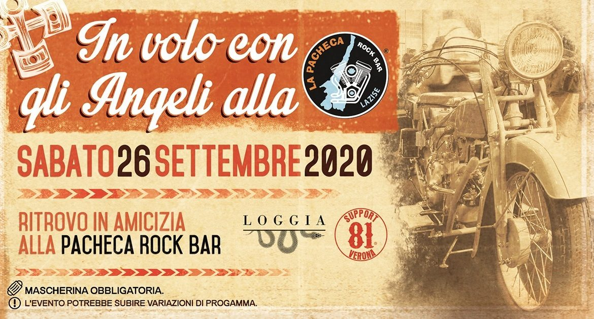In volo con gli Angeli alla Pacheca Rock Bar